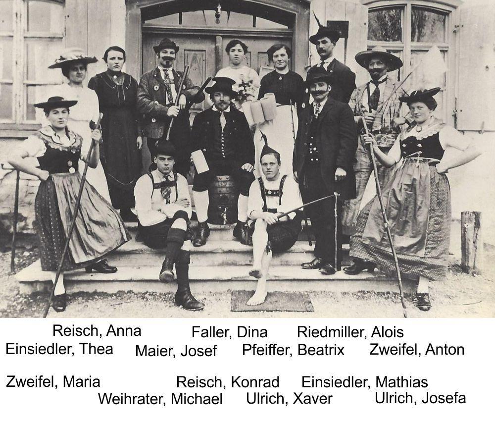 1921: Das heiratsnärrische Volk - Spielleitung Heinrich Pfaller
