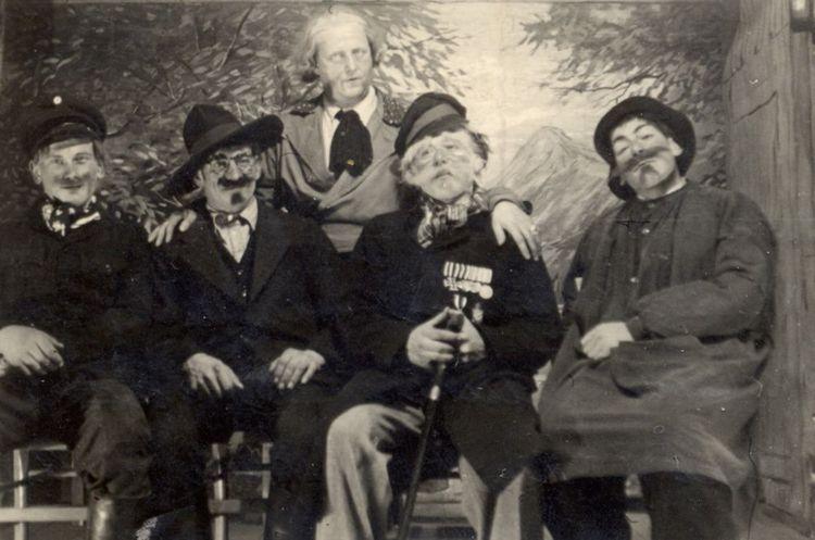 1948 - Theateraufführung - Die Lieder des Musikanten