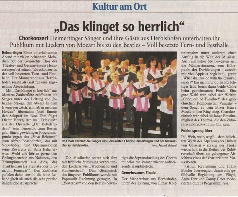Memminger Zeitung vom 07.06.2011