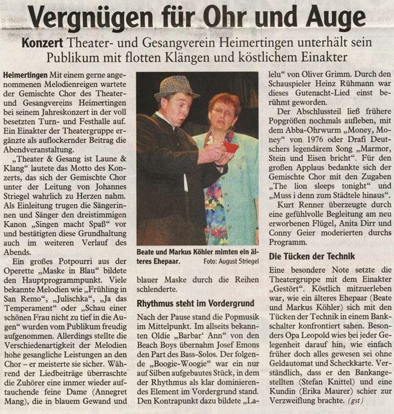 Memminger Zeitung vom 26.05.2012