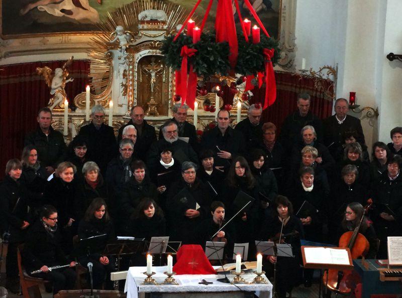 Chor und Instrumentalisten - Weihnachten 2012