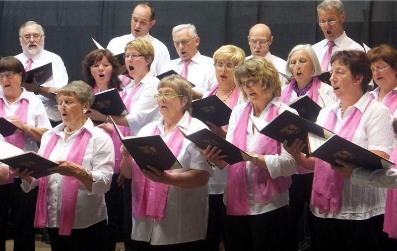 Der gemischte Chor - voll in Action!