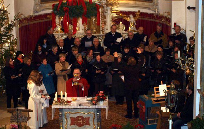Der Gemischte Chor.