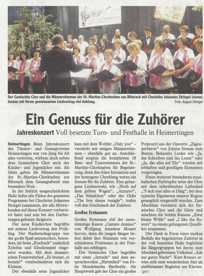 Memminger Zeitung vom 05.06.2014