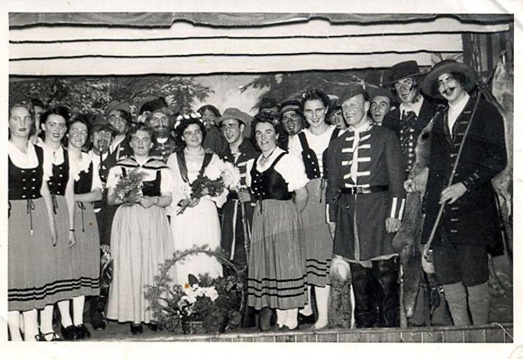 1951 - Theateraufführung - Der Freischütz