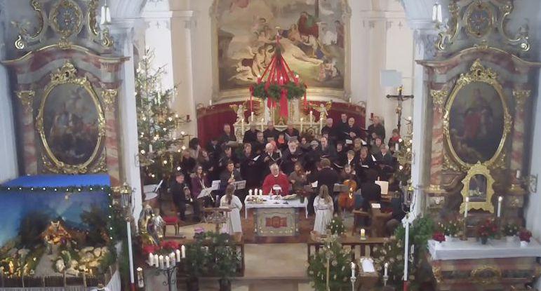 Der Gemischte Chor singt die Spatzenmesse von Wolfgang Amadeus Mozart