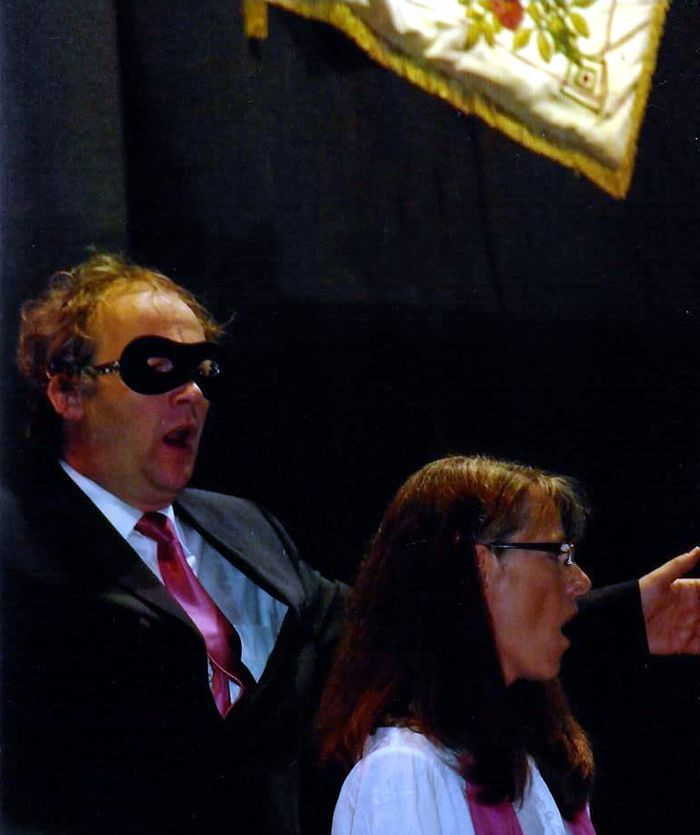 "Duett ""The Phantom of the opera"" mit  Johannes Striegel und Anne Siebenmorgen-Emons"