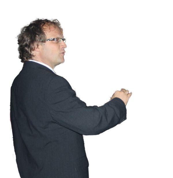 Unser Chorleiter Johannes Striegel