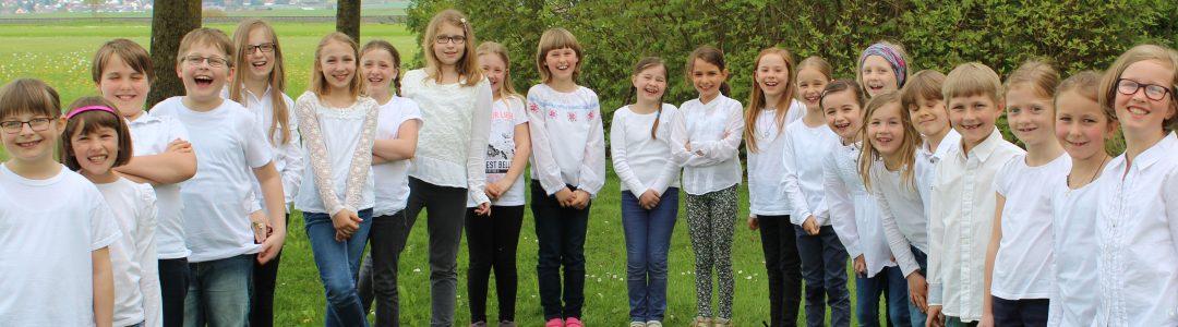 Unsere Kinder- und Jugendchöre: Freude und Spaß beim Singen!