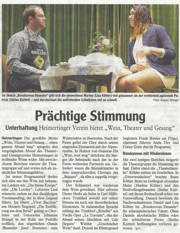 Memminger Zeitung vom 02.11.2016